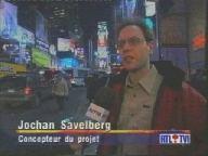 Jochen in New York op belgische televisie